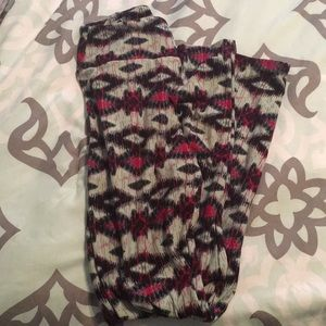 OS LulaRoe leggings worn once